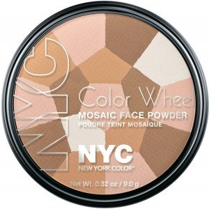 Color Wheel Mosaic Face Powder Highlighter Glow