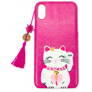 iPhone XR Cuki Cat Funda Para Móvil