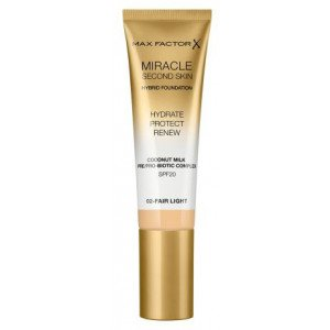 Base de Maquillaje Miracle Second Skin Foundation 02 Fair Light