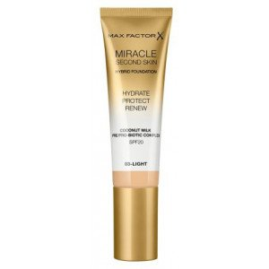 Base de Maquillaje Miracle Second Skin Foundation 03 Light
