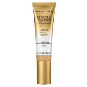 Base de Maquillaje Miracle Second Skin Foundation 06 Golden Medium