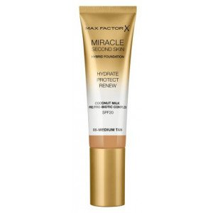 Base de Maquillaje Miracle Second Skin Foundation 08 Medium Tan