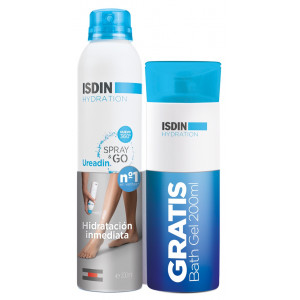 Ureadin Spray & Go Hidratante 200 ml + Gel 200 ml