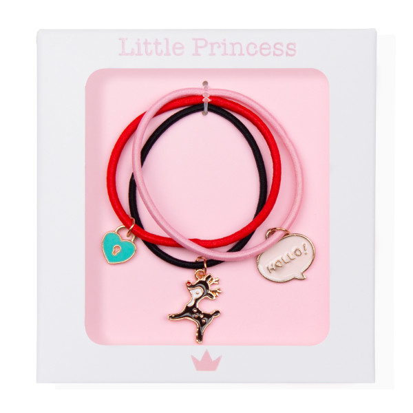 Little Princess Set 3 Gomas Pulsera Cervatillo