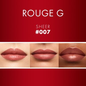 Rouge G The Sheer Shine Lipstick 007