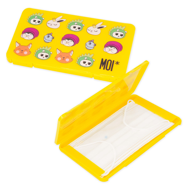 Caja Rectangular para Mascarillas Mini MOI*