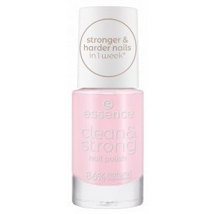 Clean & Strong Nail Polish Esmaltes de Uñas 01 Pink Clouds