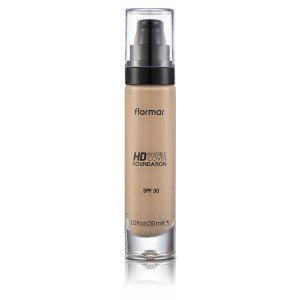 40 Light Ivory HD Invisible Cover Foundation Base de Maquillaje SPF30