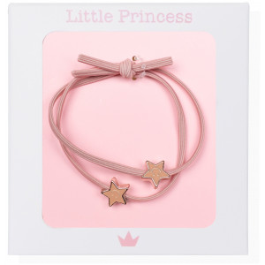 Little Princess Coletero Doble Estrellas Rosa