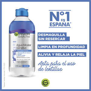 Agua Micelar Sensitive