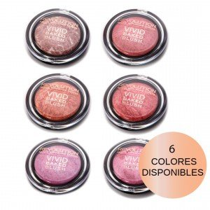 BAKED BLUSH COLORETES COCIDOS