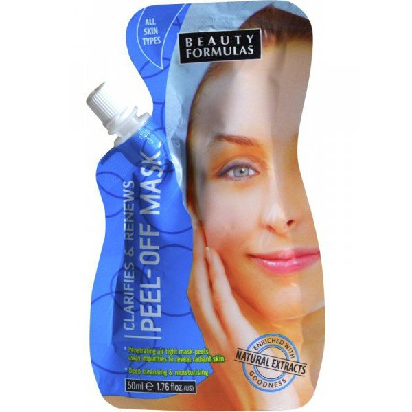 CLARIFIES AND RENEWS PEEL OFF MASK