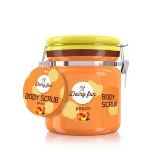 Peach Body Scrub Exfoliante Corporal