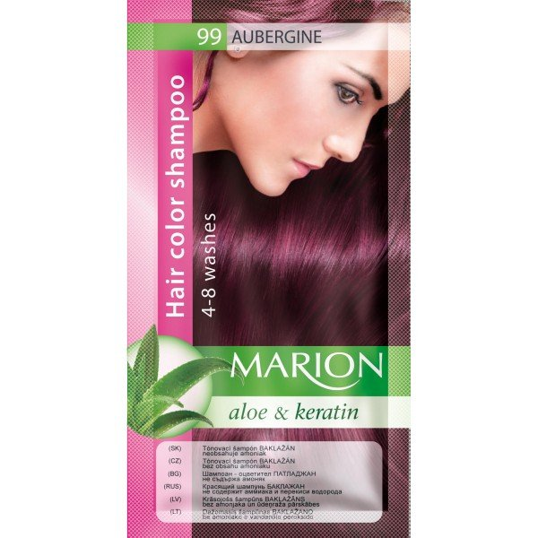 99 Aubergine Hair Color Shampoo