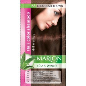 63 Chocolate Brown Hair Color Shampoo