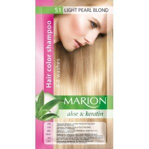 51 Light Pearl Blond Hair Color Shampoo