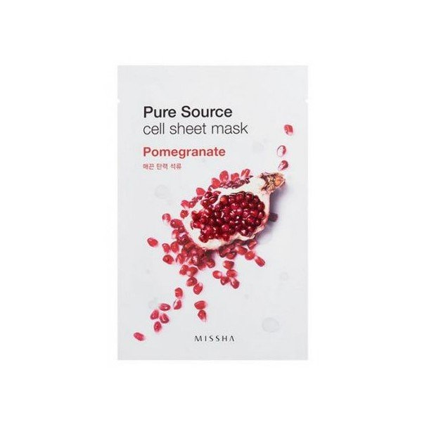 Pure Source Cell Sheet Mask Pomegranate