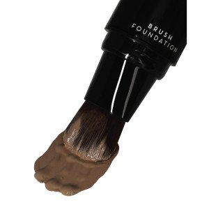 Pump-Up Brush Foundation Dark