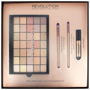 Set Amplified 35 Eyeshadow Palette Naked Golds