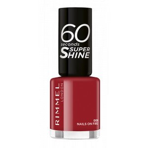 60 SECONDS SUPER SHINE 008 Nails on Fire