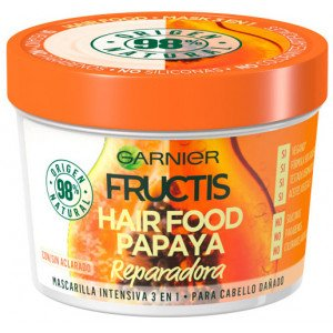 Fructis Hair Food Mascarilla 3 en 1 Papaya