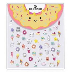 Happy Kawaii Stickers Rostro y Uñas