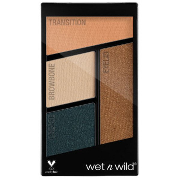 Paleta de 4 Sombras de Ojos Color Icon Hooked on Vinyl