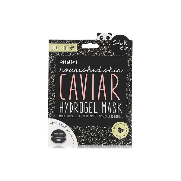 Luxe Hydrogel Caviar Face Mask