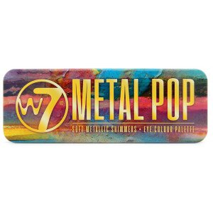 Metal Pop Paleta de Sombras