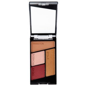 Fire & Ice Color Icon Eyeshadow Quad Fit For A Queen