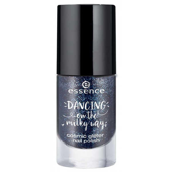 Dancing on the milky way Esmalte de uñas Cosmic Glitter 01 Molten night sky