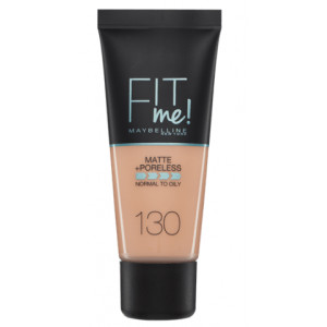 Fit Me Matte + Poreless Base de Maquillaje 130