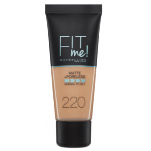 Fit Me Matte + Poreless Base de Maquillaje 220