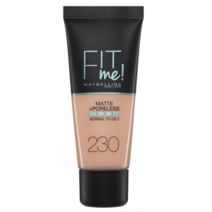 Fit Me Matte + Poreless Base de Maquillaje 230