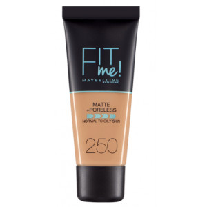Fit Me Matte + Poreless Base de Maquillaje 250
