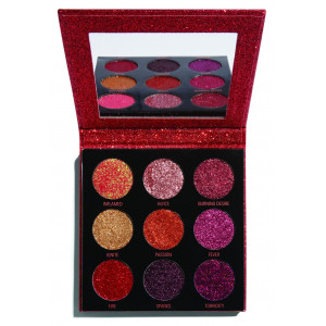 Paleta de Glitter Prensado Pressed Glitter Hot Pursuit
