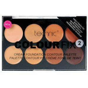 Colour 2 Fix Cream Foundation Contouring Palette