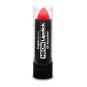 Glow Me Up Neon UV Barra de Labios Intense Red