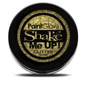Shake Me Up! Holographic Glitter Gold