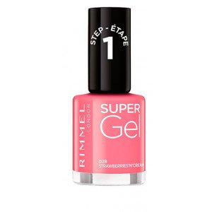 Super Gel Nail Polish Italian Shades 028 Strawberries'n'Cream