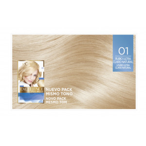 Excellence Creme Blonde Supreme Tintes 01