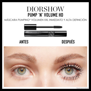 DIORSHOW PUMP'N'VOLUME HD_Máscara Pumping Volumen 255