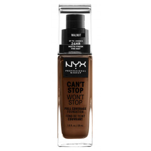 Can't Stop Won't Stop Base de Maquillaje Fluida Walnut