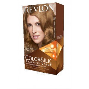 57 Lightest Golden Brown COLORSILK Tinte Sin Amoniaco