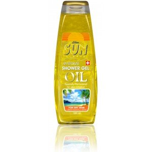 Aftersun oil shower gel