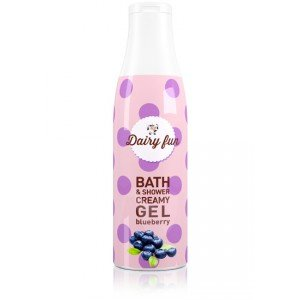 Blueberry Bath & Shower Creamy Gel