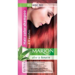 65 Wine Red Hair Color Shampoo