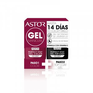 Pack Perfect Stay Dúo Gel + Top Coat 103