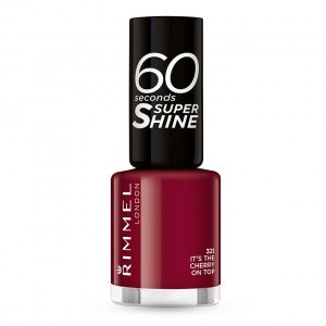 321 Its The Cherry On Top 60 SECONDS SUPER SHINE