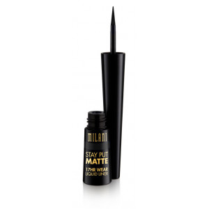 Stay Put Matte 17hr Eyeliner Líquido 01 Black Matte